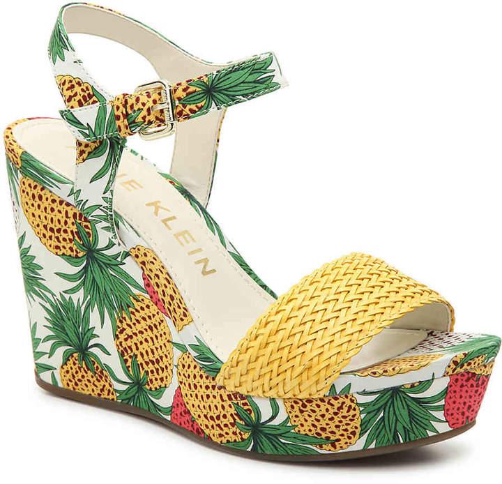768a00562d Anne Klein Wedge Heel Women's Sandals - ShopStyle