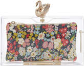 Charlotte Olympia Pandora Transparent Floral Clutch