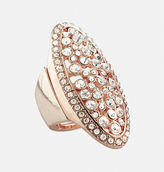 Avenue Oval Rose Gold Stretch Ring