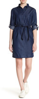 Max Studio Collared Pocket Dress