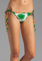 Milly Aster Print Biarritz String Bikini Bottom
