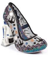 Irregular Choice Multi Glitter Battle With Artoo Star Wars Heels