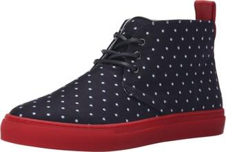 Del Toro Men's Polka Dot Sunbrella Chukka Sneaker