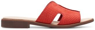 Clarks Declan Snakeskin Embossed Sandal - Wide Width Available