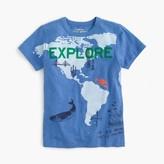 """J.Crew Boys' """"explore"""" T-shirt"""