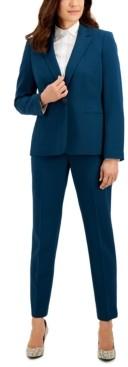 Le Suit Stretch Crepe Pantsuit