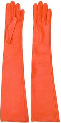 Manokhi Elbow-Length Gloves