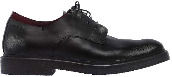 Alexander Hotto Suede & Leather Lace-Up Shoes