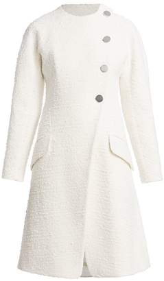 Proenza Schouler Tweed Turn Lock Coat