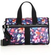 Le Sport Sac Floral-Print Nylon Weekender Bag