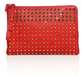 MCM Stark Special Studded Leather Clutch