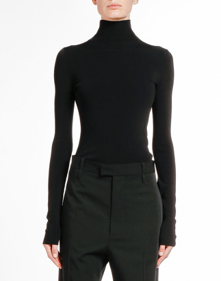 Bottega Veneta Skin Knit Turtleneck Top