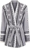 Dodo Bar Or Black & White Cotton Zur Kimono