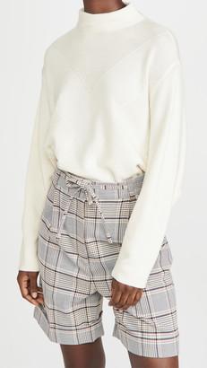 Line & Dot Madeline Mock Neck Sweater