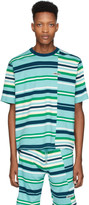 Kenzo Blue Stripe Oversized T-Shirt
