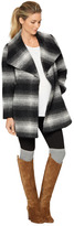 A Pea in the Pod Wrap Wool Maternity Coat