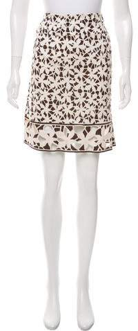 Diane von Furstenberg Tiffany Floral Skirt