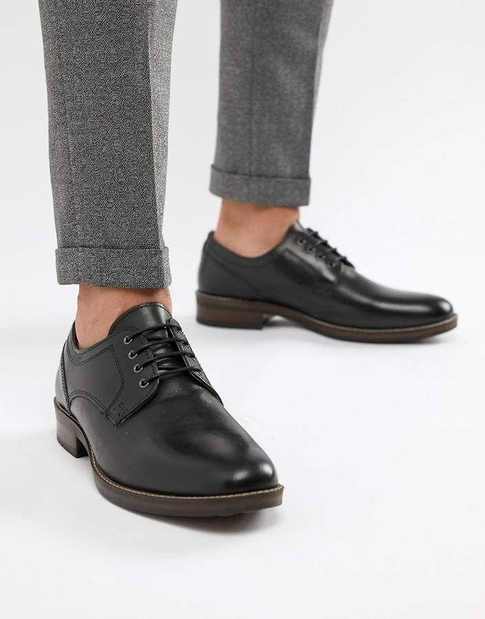 6413832e0a1 Elcot Lace Up Brogue Shoes In Black