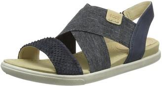 Ecco Women's Damara 2-Strap Flat Sandal