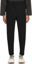 Issey Miyake Homme Plisse Black Pleated Trousers