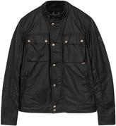 Belstaff Racemaster Black Coated Cotton Jacket