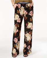 Be Bop Juniors' Floral-Print Palazzo Pants