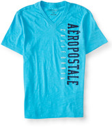 Vertical Aéropostale V-Neck Graphic T