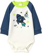 Gymboree White Space Raglan Bodysuit - Infant