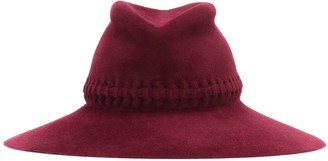Lola Hats Exclusive to Mytheresa Fretwork Redux felt hat