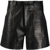 Ganni high-waisted shorts