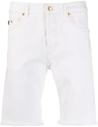 Versace denim bermuda shorts
