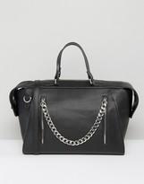 Asos Chain Detail Tote Bag