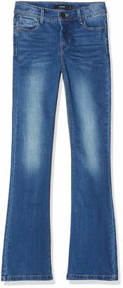 Name It Girls' Nkmnobert Ls Knit Camp Jeans