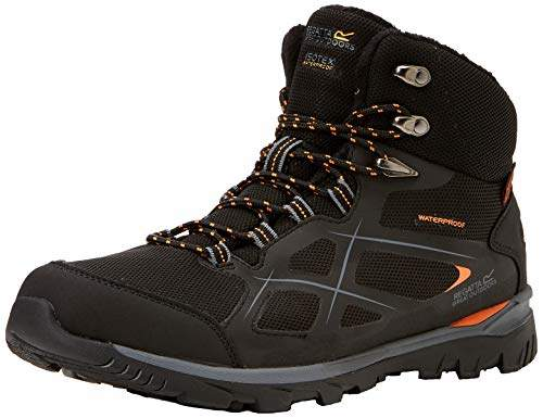 68122aada63 Men's Kota Thermo Mid Rise Hiking Boot High (Black/Granite 9v8), 12 (47 EU)