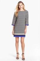 Eliza J Print Jersey Shift Dress