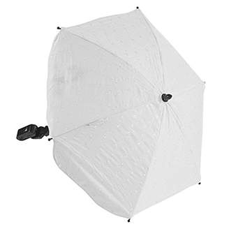 For-Your-Little-One Ba Parasol Compatible with Red Kite Push Me Jogger, White