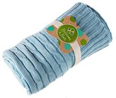Evergreen Blue Everyday Cable Knit Baby Blanket