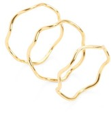 Gorjana Women's Emilia Set Of 3 Stack Rings