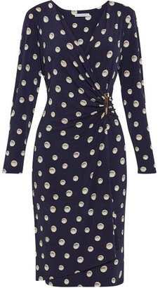 Gina Bacconi Pearla Jersey Wrap Dress