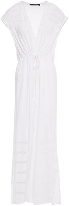 Vix Paula Hermanny Broderie Anglaise Voile Coverup