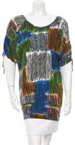M Missoni Jersey Printed Top