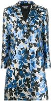 Moschino floral print blazer