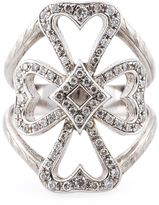 Loree Rodkin diamond Maltese cross midi ring