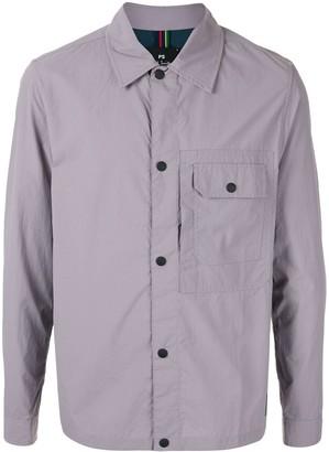 Paul Smith Flap Pocket Long Sleeve Shirt