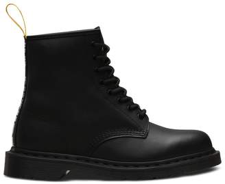 Dr. Martens 1460 Sex Pistols Leather Boots with Slogan and Lace-Up Fastening