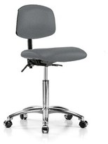 Task Chair Perch Chairs & Stools Upholstery Color: Cinder Fabric