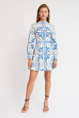 Finders Keepers YOLANDA MINI DRESS Ivory Tile