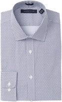 Tommy Hilfiger Snowflake Print Slim Fit Dress Shirt
