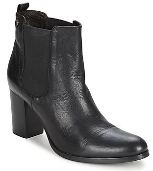 JB Martin SUN women's Low Ankle Boots in Black