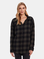 NSF Danae Long Sleeve Button Up Shirt